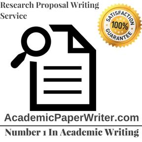 writing an academic proposal